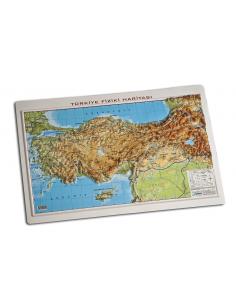 Gürbüz Yayınları Kabartma Türkiye Fiziki Haritası Set(50 Adet)