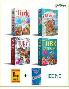 Büyük Türk Serisi Kampanyalı Kitap Seti (40 Kitap)