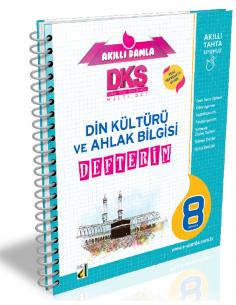 Damla Yayınları 7.Sınıf Din Kültürü ve Ahlak Bilgisi Defterim