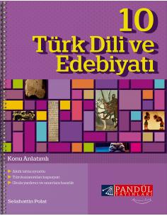 Pandül Yayınları 10. Sınıf Edebiyat  Defteri