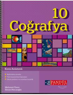 Pandül Yayınları 10. Sınıf Coğrafya  Defteri
