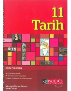 Pandül Yayınları 11. Sınıf Tarih Defteri Konu Anlatımlı