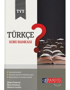 Pandül Yayınları TYT Türkçe Soru Bankası