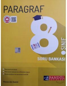Pandül Yayınları 8. Sınıf Türkçe Parağraf Soru Bankası