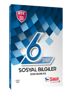 Sınav Yayınları 6. Sınıf Sosyal Bilgiler Soru Bankası Bts