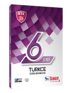 Sınav Yayınları 6. Sınıf Türkçe Soru Bankası Bts