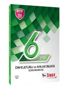 Sınav Yayınları 6. Sınıf Din Kültürü ve Ahlak Bilgisi Soru Bankası Bts