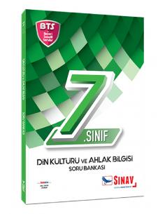 Sınav Yayınları 7. Sınıf Din Kültürü ve Ahlak Bilgisi Soru Bankası Bts