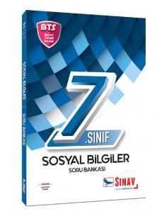 Sınav Yayınları 7. Sınıf Sosyal Bilgiler Soru Bankası Bts