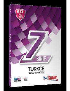 Sınav Yayınları 7. Sınıf Türkçe Soru Bankası Bts