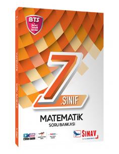 Sınav Yayınları 7. Sınıf Matematik Soru Bankası Bts