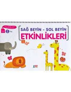 Erdem Yayınları Okul Öncesi Sağ Beyin-Sol Beyin Etkinlikleri(5 yaş)