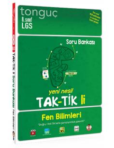 Tonguç Akademi Yayınları 8. Sınıf Fen Bilimleri Taktikli Soru Bankası