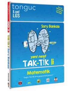 Tonguç Akademi Yayınları 8. Sınıf Matematik Taktikli Soru Bankası