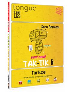Tonguç Akademi Yayınları 8. Sınıf Türkçe Taktikli Soru Bankası