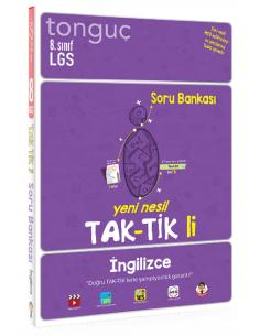 Tonguç Akademi Yayınları 8. Sınıf İngilizce Taktikli Soru Bankası