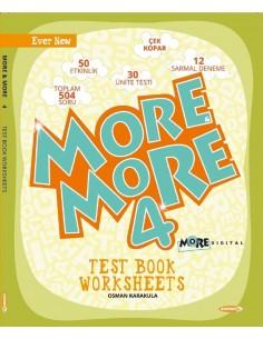Kurmay Yayınları 4.Sınıf More&More Worksheets & Test Book