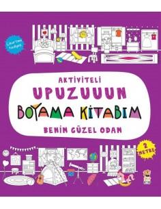 Aktiviteli Upuzuuun Boyama Kitabım – Benim Güzel Odam