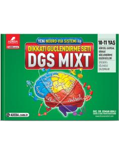 Adeda Yayınları 10-11 Yaş Dikkat Güçlendirme Seti DGS MİXT