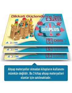 Adeda Yayınları Dikkati Güçlendirme Seti Plus 9 Yaş