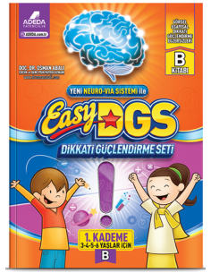 Adeda Yayınları 3 - 6 yaş Easy DGS A