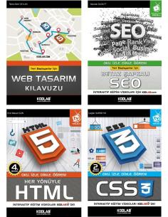 Hızlı ve Kolay Web Tasarım Seti 2 - KODLAB