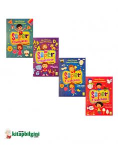 EMA Çocuk Yayınları Süper Etkinlikler Set (4 Kitap )