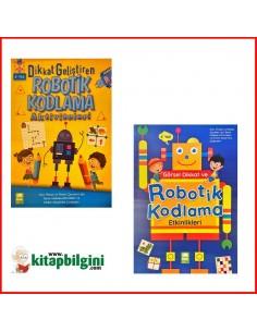 EMA Çocuk Yayınları Robotik Kodlama Etkinlikleri Set ( 2 Kitap )