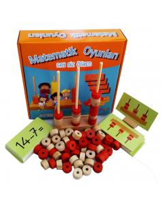 Yuka Kids Yayınları Matematik Oyunları - Say Diz Öğren