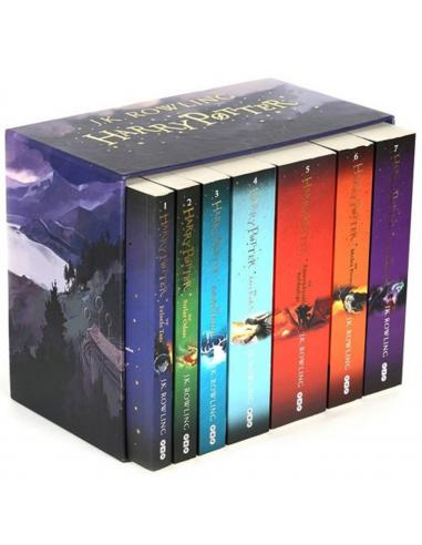 Harry Potter (Kutulu Set - 7 Kitap)