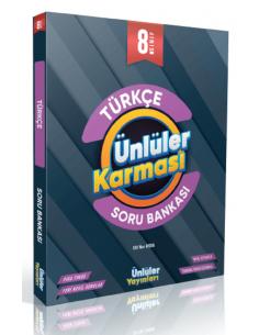 Ünlüler Yayınları 8. Sınıf Türkçe Soru Bankası
