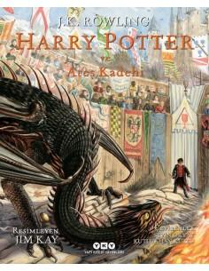 Yapı Kredi Yayınları - Harry Potter ve Ateş Kadehi (Resimli Özel Baskı)