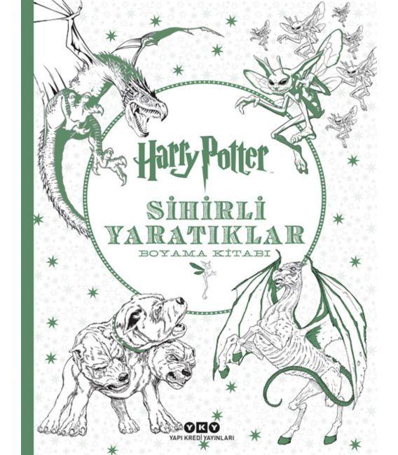 Yapı Kredi Yayınları - Harry Potter Sihirli Yaratıklar Boyama Kitapları