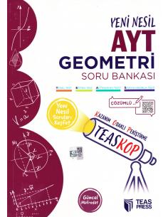 Teas Press TEASKOP TYT Geometri Soru Bankası