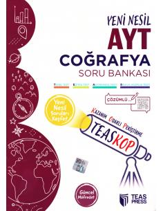 Teas Press TEASKOP AYT Coğrafya Soru Bankası