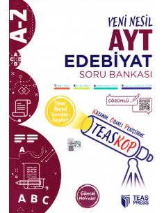 Teas Press TEASKOP AYT Edebiyat Soru Bankası