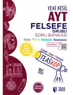 Teas Press TEASKOP AYT Felsefe Soru Bankası