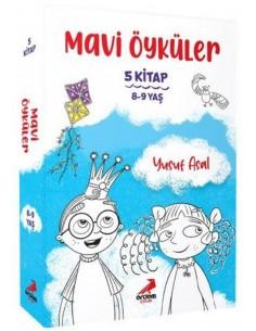 Erdem Yayınları Mavi Öyküler Seti (5 Kitap)