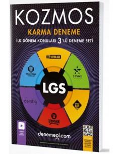 Kozmos 8.Sınıf LGS 1. Dönem Yeni Nesil 3 lü Deneme Seti Hız Yayınları