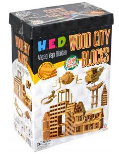 HED Wood City Blocks 200 Parça