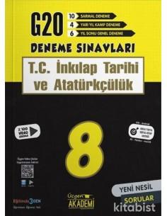 Üçgen Yayınları 8. Sınıf - T.C. İNKILAP TARİHİ VE ATATÜRKÇÜLÜK - 20 li Deneme Sınavı