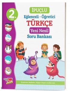 Dikkat Atölyesi 2. Sınıf İpuçlu Türkçe Yeni Nesil Soru Bankası