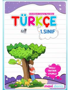 Mavi Deniz Yayınları 1. Sınıf Türkçe 2. Dönem Kitabı