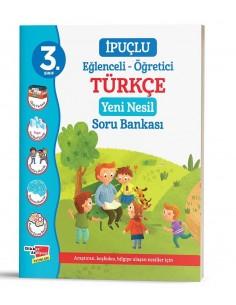 Dikkat Atölyesi 3. Sınıf İpuçlu Türkçe Yeni Nesil Soru Bankası