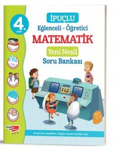 Dikkat Atölyesi  4. Sınıf İpuçlu Matematik Yeni Nesil Soru Bankası