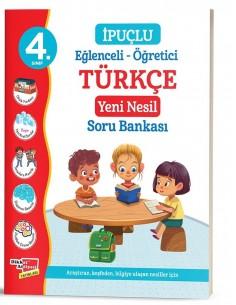 Dikkat Atölyesi   4. Sınıf İpuçlu Türkçe Yeni Nesil Soru Bankası