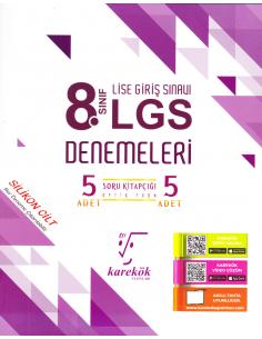 Karekök Yayınları 8.Sınıf LGS 5 li Deneme Sınavı