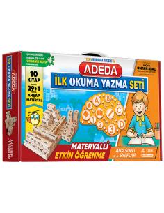 Adeda Yayınları İlk Okuma Yazma Seti-2021