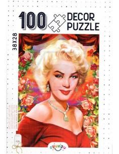 Oyunzu Marilyn Monroe Decor Puzzle - 100 Parça