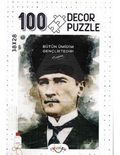 Oyunzu Atatürk Decor Puzzle - 100 Parça